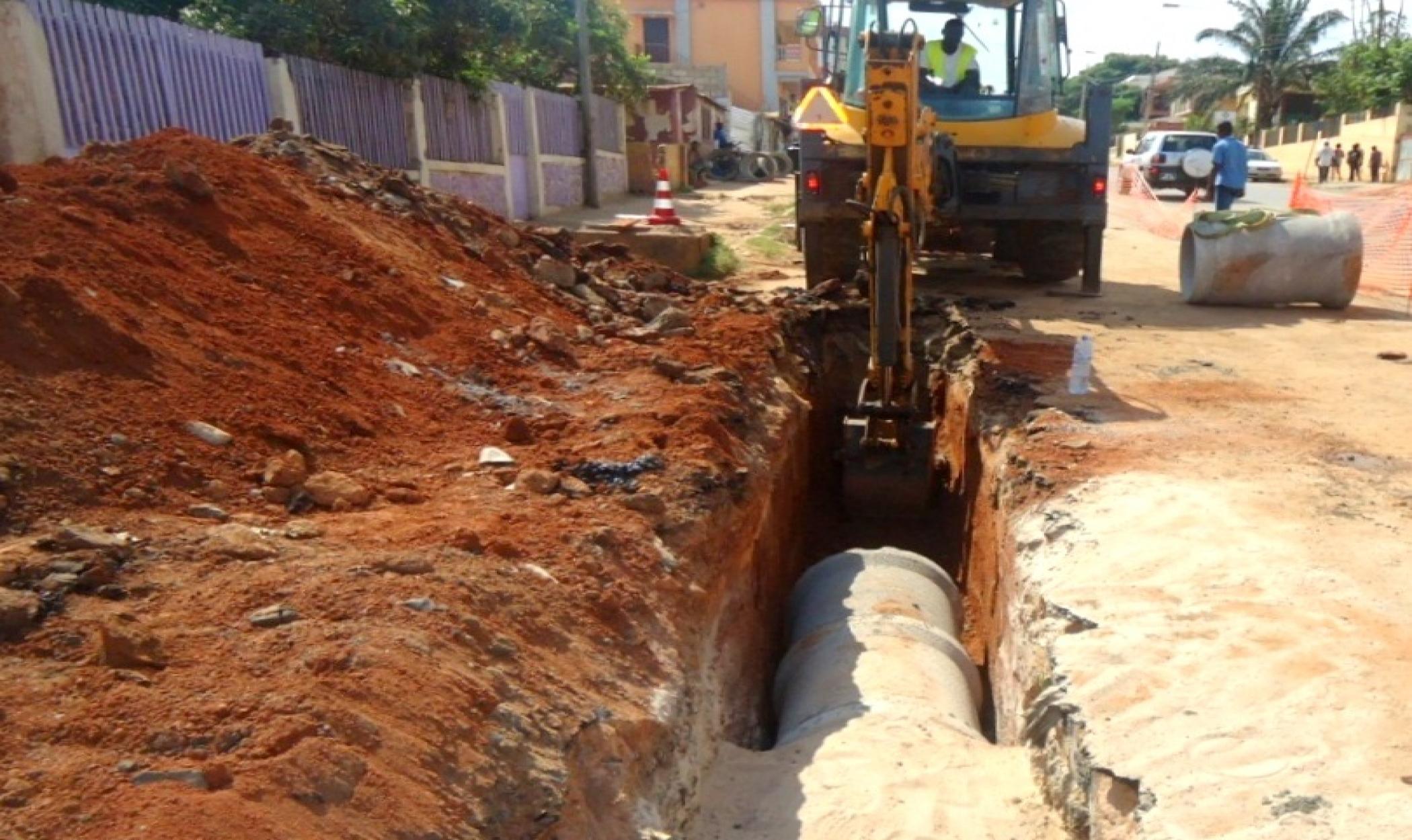Ampliação dos Sistemas de drenagem de águas pluviais da cidade de Nampula
