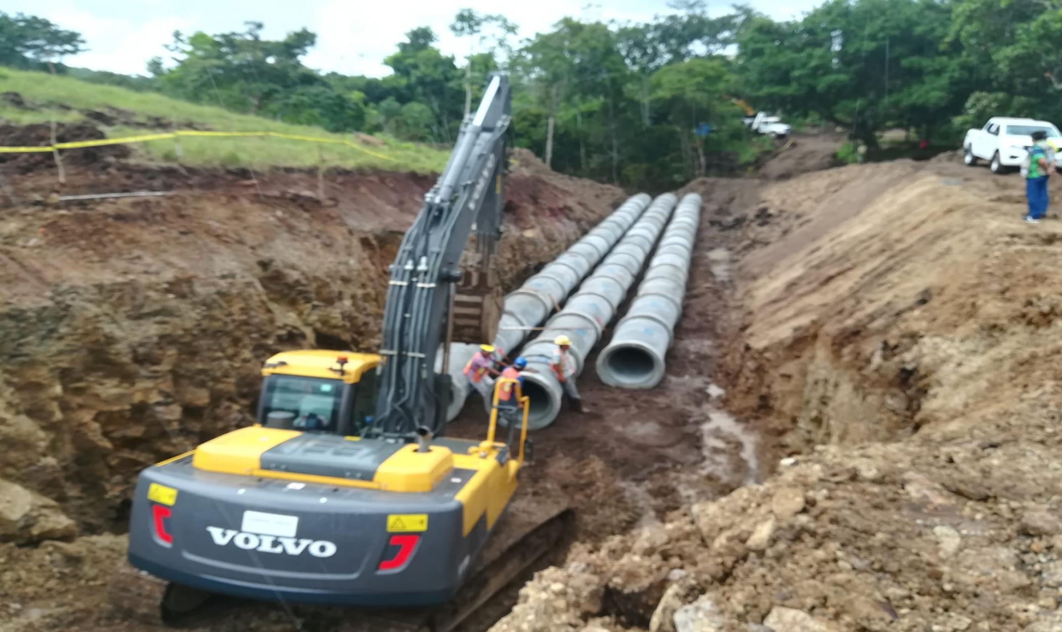 Ampliação dos Sistemas de água potável das cidades de Santo Tomás e Acoyapa