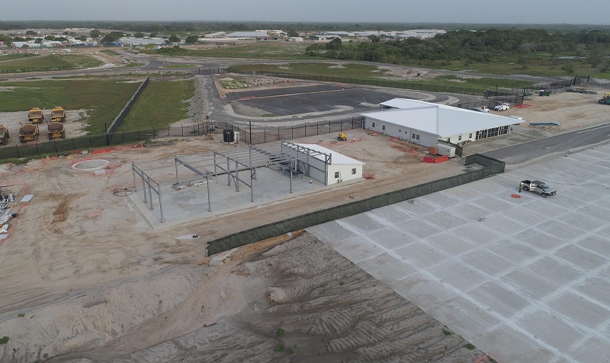Aeródromo Permanente em Afungi