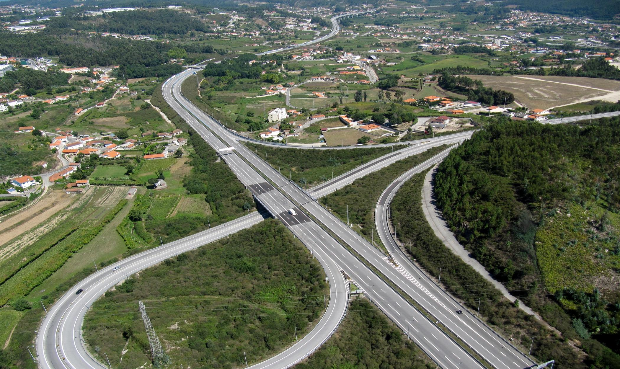 SCUT Grande Porto A42/ IC25 Paços de Ferreira, Nó EN 106