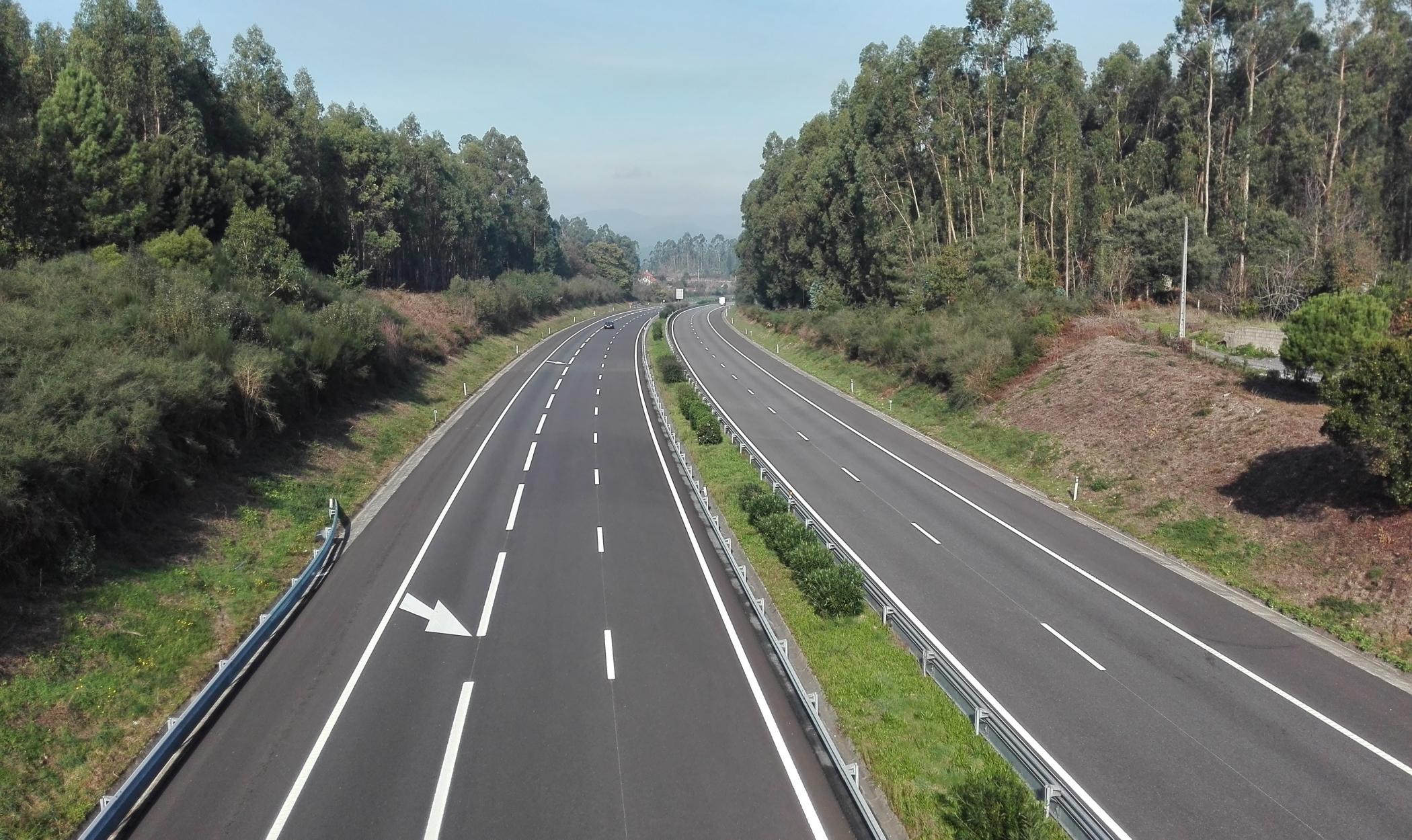 Reforço do pavimento da A3, Auto-estrada Porto/ Valença