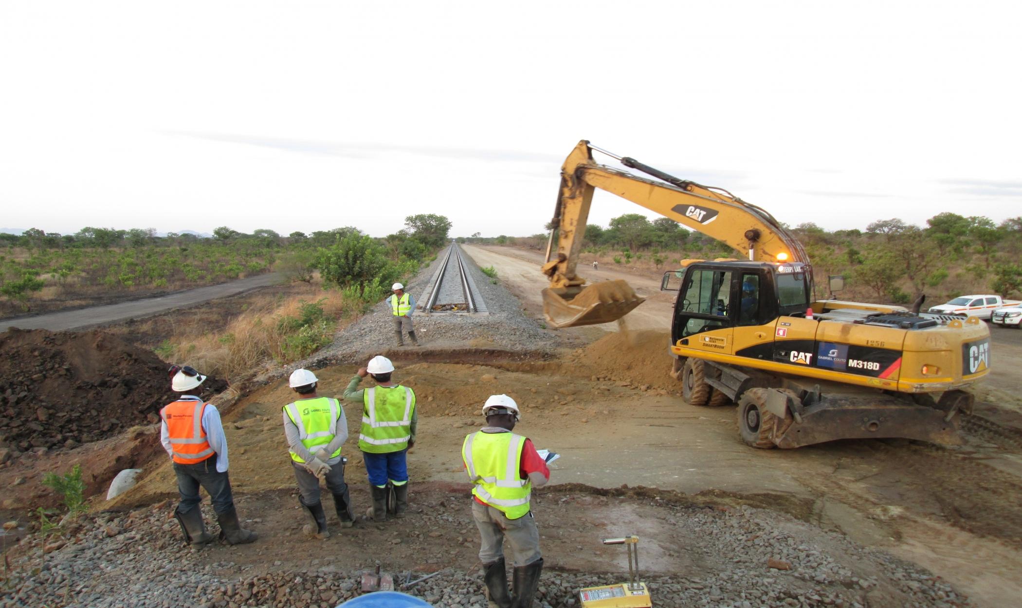 Construção do Corredor Ferroviário de Nacala - Secção 6