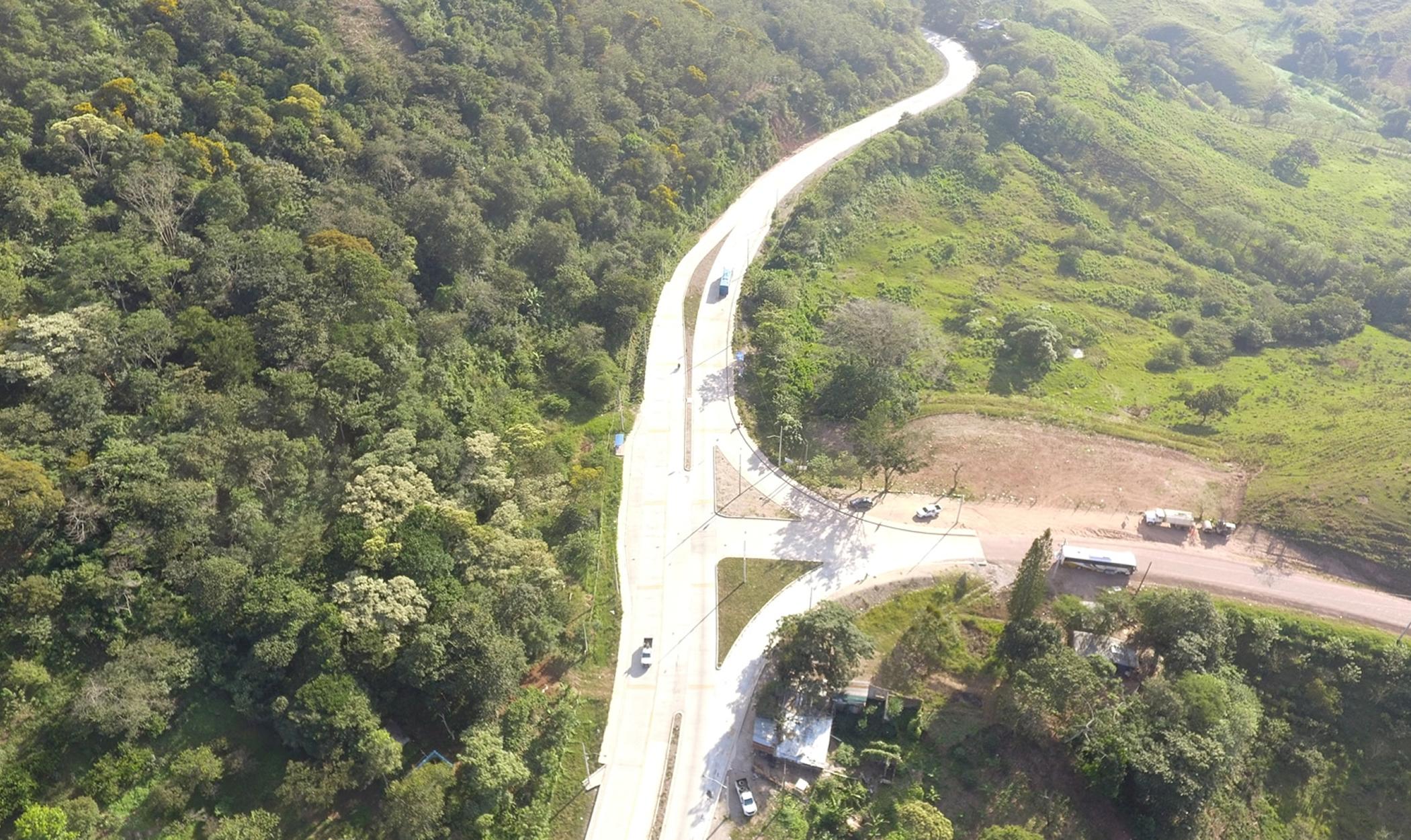 Reabilitação da Carretera del Occidente - Honduras