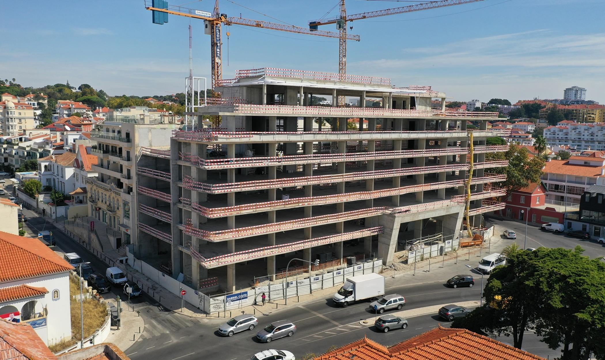 Está concluída a estrutura do Sana Evolution Hotel no Estoril
